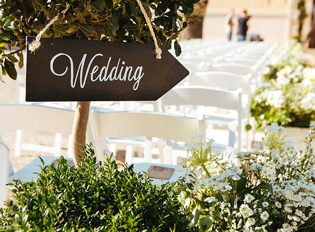 Cartelería de boda y su importancia.