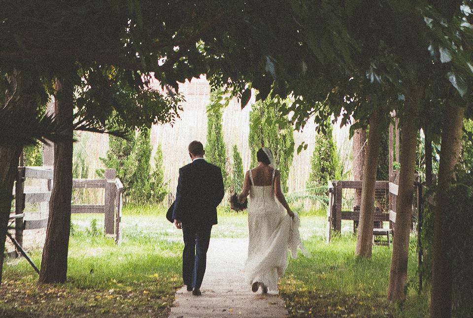 Fotografías con mucha naturalidad en una boda internacional