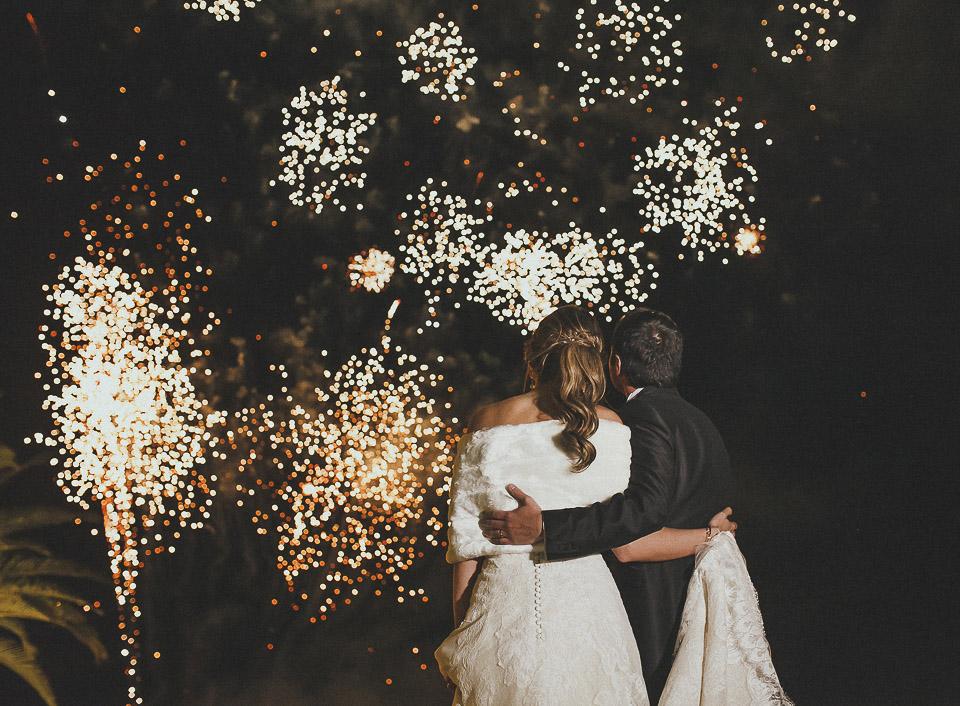 Una boda religiosa celebrada en Masía Aldamar