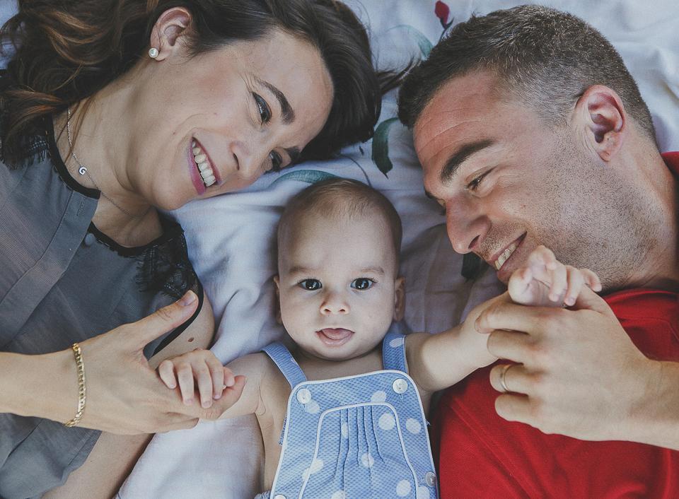 Los alegres reportajes fotográficos de bebés