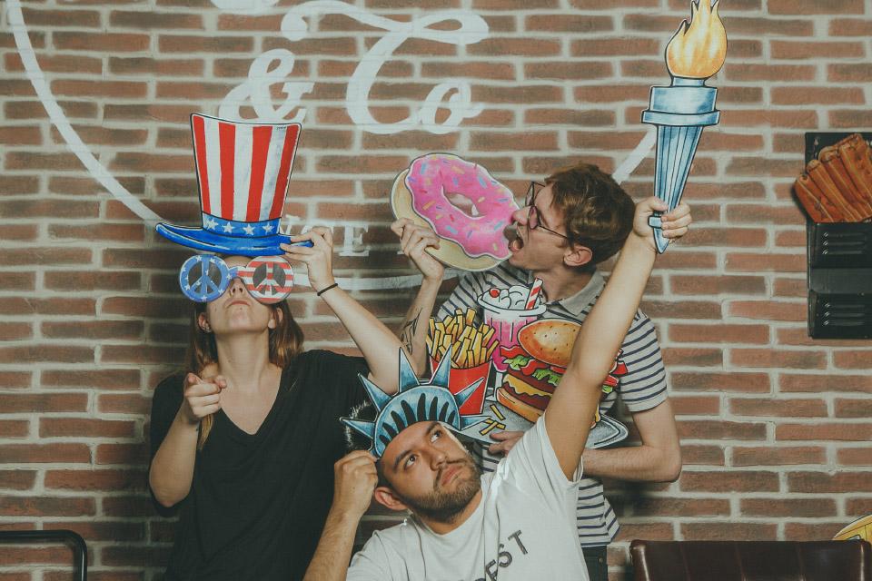 Nueva temática de photocall: EEUU