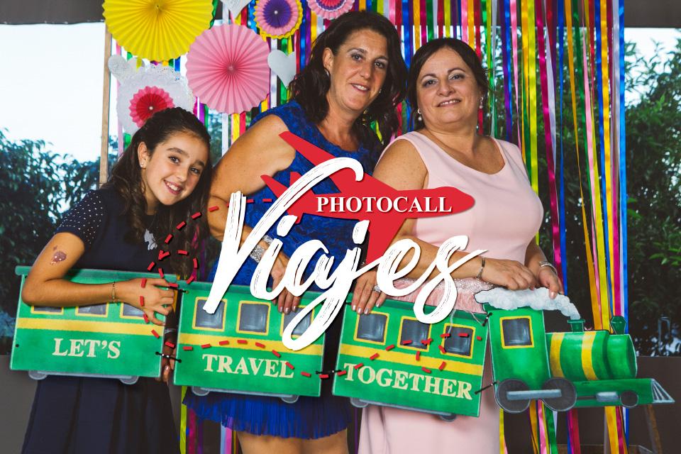 Photocall Viajes: ¡La vuelta al mundo!