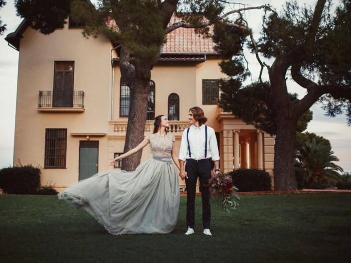 Reportaje de pareja en Mas Les Lloses