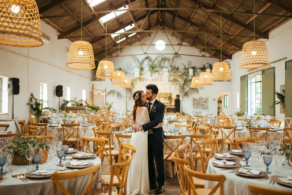 Una boda llena de swing en Mas les Lloses