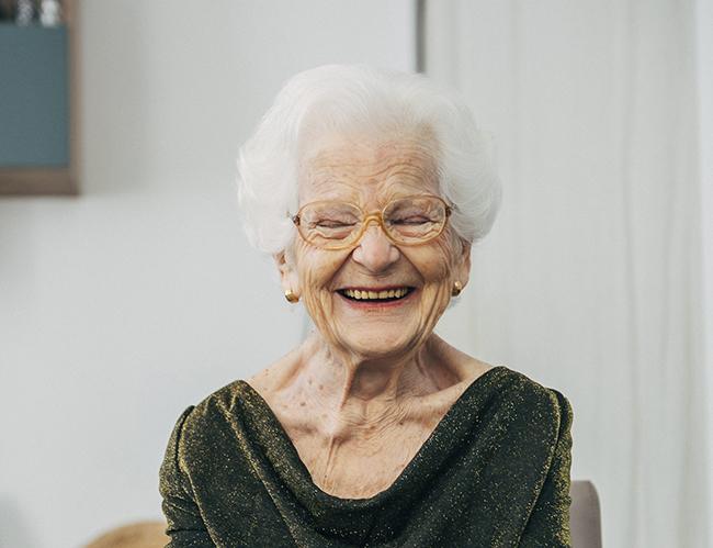 ¡Felices 97 años Lina!