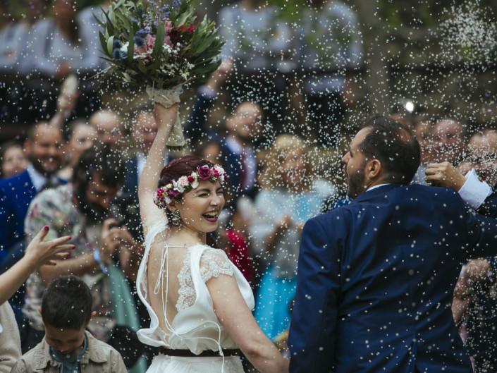 Reportaje de boda civil en Molino Galán