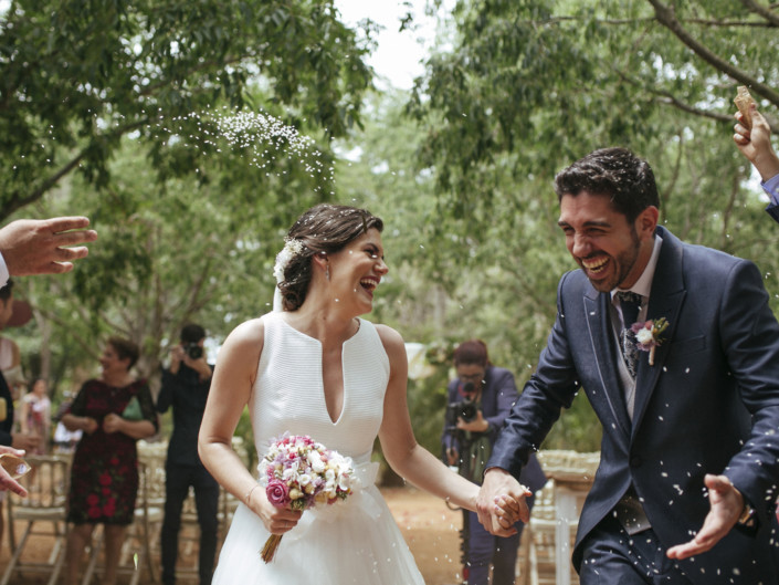 Reportaje de boda civil en Masia San Antonio