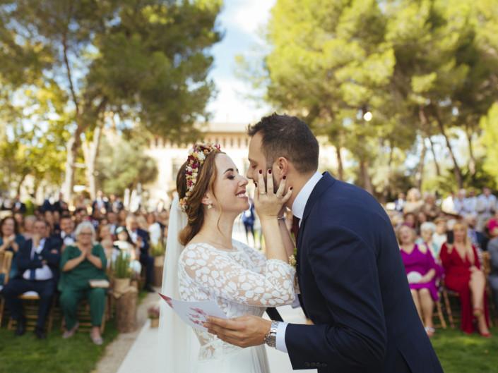 Una boda soleada en Vallesa de Mandor