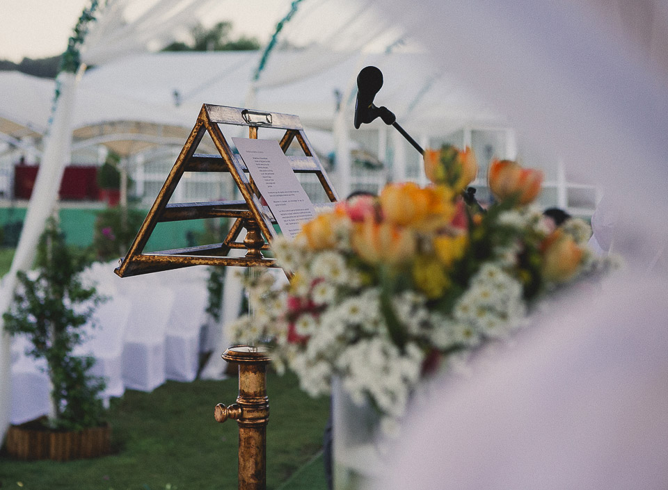 28 detalle atril de boda