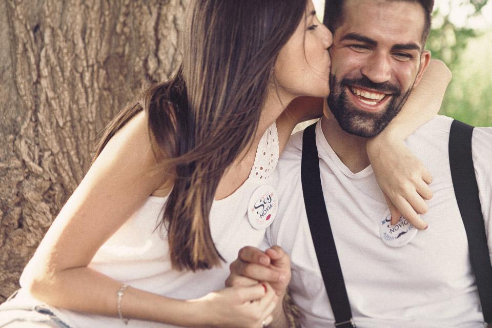 3 beso pareja enamorada preboda