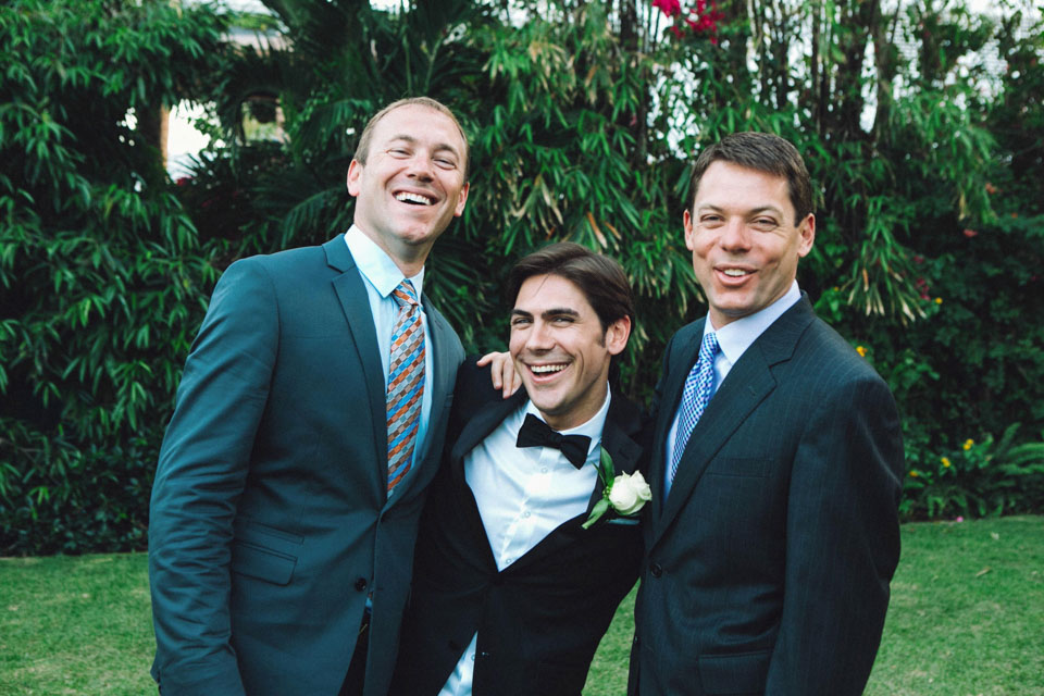 33 familiares de novio en una boda civil