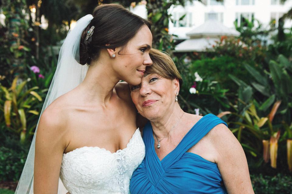 34 fotografía de novia con su madre