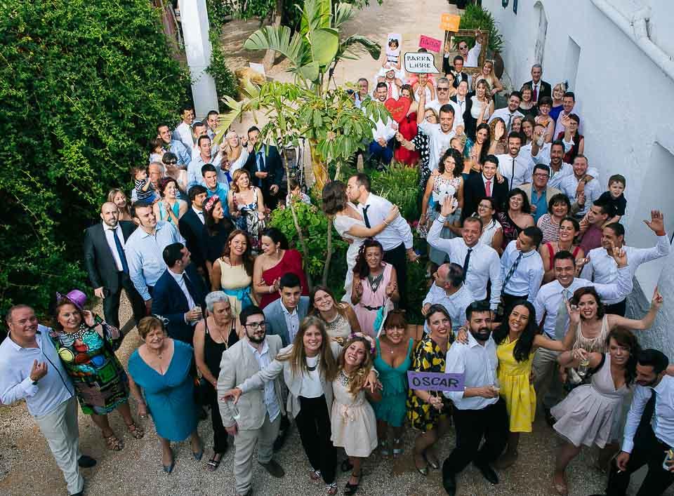 41 foto grupal novios