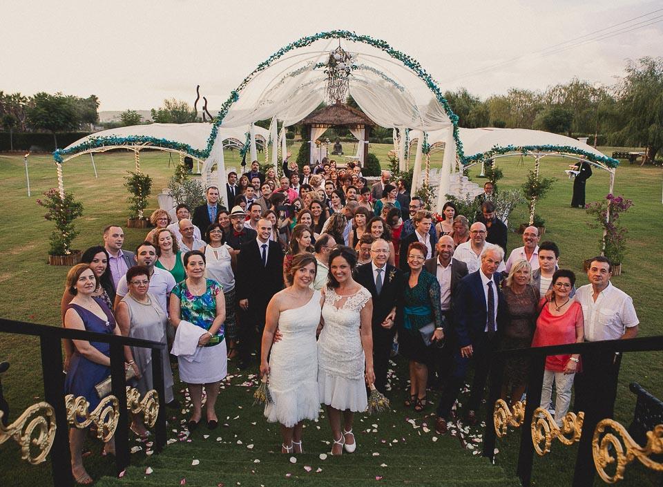 44 foto de grupo invitados de boda