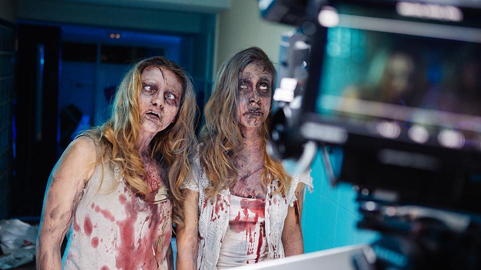 chicas zombie